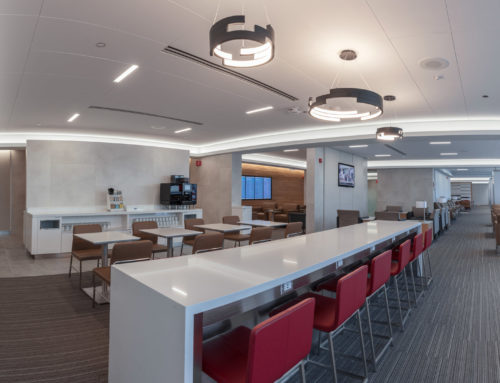 American Airlines Club at O'Hare Airport